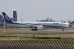 神宮寺ももさんが、成田国際空港で撮影した全日空 787-9の航空フォト(写真)
