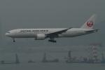トオルさんが、香港国際空港で撮影した日本航空 777-246/ERの航空フォト(写真)