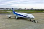 akinarin1989さんが、福岡空港で撮影した全日空 747-481(D)の航空フォト(写真)