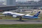 プルシアンブルーさんが、羽田空港で撮影した全日空 787-8 Dreamlinerの航空フォト(写真)