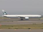 カフェもなかさんが、中部国際空港で撮影したキャセイパシフィック航空 777-367/ERの航空フォト(写真)