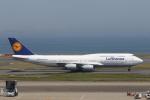 VEZEL 1500Xさんが、羽田空港で撮影したルフトハンザドイツ航空 747-830の航空フォト(写真)