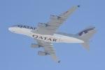 cornicheさんが、ドーハ・ハマド国際空港で撮影したカタール航空 A380-861の航空フォト(写真)