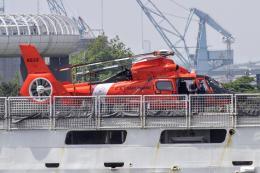 きりしまさんが、横浜港で撮影したアメリカ沿岸警備隊 HH-65Bの航空フォト(飛行機 写真・画像)