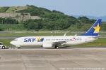 tabi0329さんが、長崎空港で撮影したスカイマーク 737-81Dの航空フォト(写真)