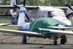 多楽さんが、龍ヶ崎飛行場で撮影した日本個人所有 M20J 201の航空フォト(写真)