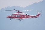 HEATHROWさんが、山形空港で撮影した山形県消防防災航空隊 AW139の航空フォト(写真)