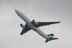 ハピネスさんが、香港国際空港で撮影したキャセイパシフィック航空 A330-342の航空フォト(飛行機 写真・画像)