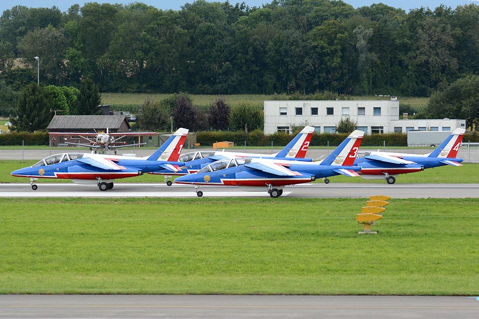 Tomo-Papaさんのフランス空軍 Alpha Jet (E94) 航空フォト