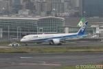 遠森一郎さんが、羽田空港で撮影した全日空 787-9の航空フォト(写真)