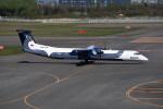 kumagorouさんが、新千歳空港で撮影したオーロラ DHC-8-402Q Dash 8の航空フォト(飛行機 写真・画像)