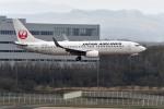 Dojalanaさんが、新千歳空港で撮影した日本航空 737-846の航空フォト(写真)