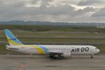 とりてつさんが、新千歳空港で撮影したAIR DO 767-33A/ERの航空フォト(写真)