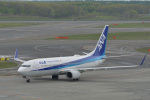 とりてつさんが、新千歳空港で撮影した全日空 737-881の航空フォト(写真)