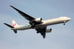 空の旅人さんが、羽田空港で撮影した日本航空 777-346/ERの航空フォト(飛行機 写真・画像)