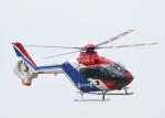 チャーリーマイクさんが、羽田空港で撮影した毎日新聞社 EC135T1の航空フォト(写真)