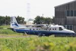多楽さんが、龍ヶ崎飛行場で撮影した新中央航空 228-212の航空フォト(写真)