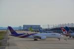 toyoquitoさんが、関西国際空港で撮影したタイ国際航空 A350-941XWBの航空フォト(写真)