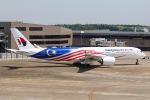 DREAMWINGさんが、成田国際空港で撮影したマレーシア航空 A350-941の航空フォト(飛行機 写真・画像)