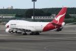 akinarin1989さんが、成田国際空港で撮影したカンタス航空 747-438/ERの航空フォト(写真)