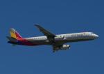 じーく。さんが、那覇空港で撮影したアシアナ航空 A321-231の航空フォト(飛行機 写真・画像)