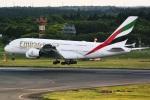 DVDさんが、成田国際空港で撮影したエミレーツ航空 A380-842の航空フォト(写真)