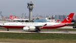 誘喜さんが、アタテュルク国際空港で撮影したトルコ政府 A340-542の航空フォト(写真)