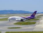 tmkさんが、関西国際空港で撮影したタイ国際航空 A380-841の航空フォト(写真)