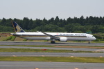 シュウさんが、成田国際空港で撮影したシンガポール航空 787-10の航空フォト(写真)