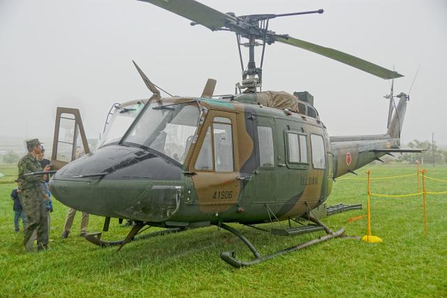 ちゃぽんさんが、根室分屯基地で撮影した陸上自衛隊 UH-1Jの航空フォト(飛行機 写真・画像)