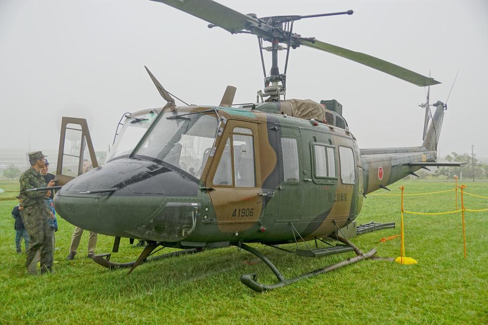 ちゃぽんさんの陸上自衛隊 Fuji UH-1J (41906) 航空フォト