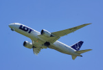 ちゃぽんさんが、成田国際空港で撮影したLOTポーランド航空 787-8 Dreamlinerの航空フォト(写真)