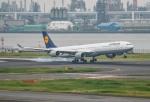 HND_fanさんが、羽田空港で撮影したルフトハンザドイツ航空 A340-642Xの航空フォト(写真)