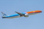 mameshibaさんが、成田国際空港で撮影したKLMオランダ航空 777-306/ERの航空フォト(写真)