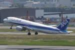 プルシアンブルーさんが、羽田空港で撮影した全日空 A320-211の航空フォト(写真)