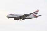 Musondaさんが、ロサンゼルス国際空港で撮影したブリティッシュ・エアウェイズ A380-841の航空フォト(写真)