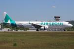 キイロイトリさんが、広島空港で撮影したエアソウル A321-231の航空フォト(写真)