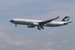 take8241さんが、小松空港で撮影したキャセイパシフィック航空 A330-343Xの航空フォト(写真)