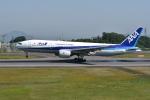 turenoアカクロさんが、高松空港で撮影した全日空 777-281の航空フォト(写真)