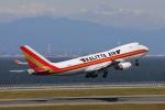じゃりんこさんが、中部国際空港で撮影したカリッタ エア 747-481F/SCDの航空フォト(写真)