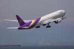 じゃりんこさんが、中部国際空港で撮影したタイ国際航空 777-3D7/ERの航空フォト(写真)