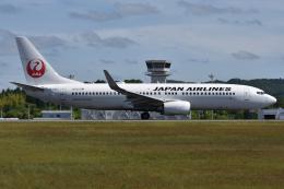 ぶる~すかい。さんが、広島空港で撮影した日本航空 737-846の航空フォト(飛行機 写真・画像)