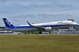 ぶる~すかい。さんが、広島空港で撮影した全日空 A321-272Nの航空フォト(飛行機 写真・画像)