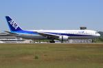 キイロイトリさんが、広島空港で撮影した全日空 767-381/ERの航空フォト(写真)