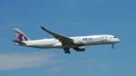 lufthansa9919さんが、フランクフルト国際空港で撮影したカタール航空 A350-941XWBの航空フォト(写真)