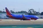 KAZKAZさんが、ロサンゼルス国際空港で撮影したサウスウェスト航空 737-7H4の航空フォト(写真)