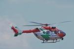 reonさんが、名古屋飛行場で撮影した岡山市消防航空隊 BK117C-2の航空フォト(写真)