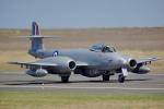 ちゃぽんさんが、アバロン空港で撮影したイギリス空軍 Meteor F.8の航空フォト(写真)