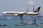 sky-spotterさんが、香港国際空港で撮影したシンガポール航空 777-212/ERの航空フォト(写真)