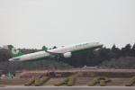 OS52さんが、成田国際空港で撮影したエバー航空 A321-211の航空フォト(写真)
